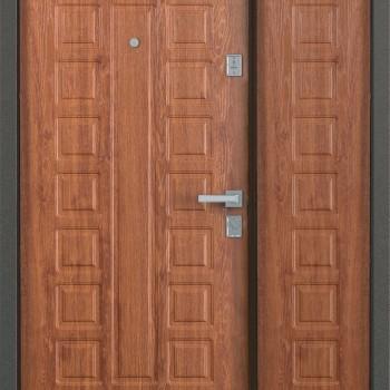 Металлическая двустворчатая дверь Бульдорс MEGA