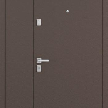 Металлическая двустворчатая дверь Бульдорс MEGA Steel