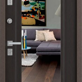 Металлическая дверь Бульдорс MASS 70 с зеркалом