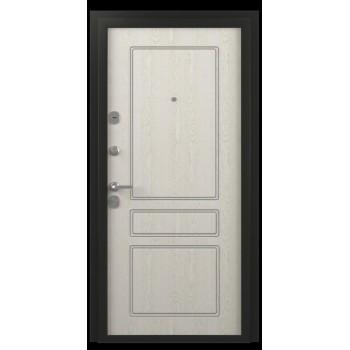 Металлическая дверь Ника Классика Ясень Голд