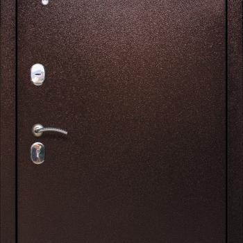 Металлическая дверь СТРАЖ 2К с зеркалом Ольга