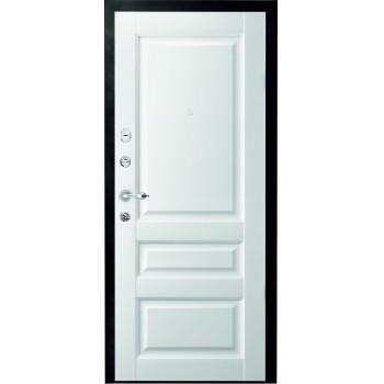 Металлическая дверь Люкс Эрмитаж 2 Vinyl белый