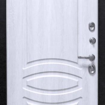 Металлическая дверь СТРАЖ 3К ЛЮКС 01