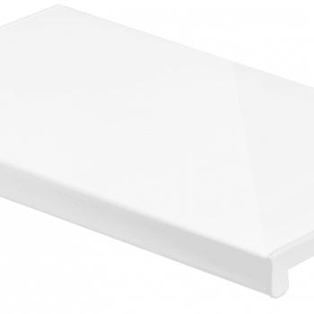 Подоконник Кристалит белый глянец